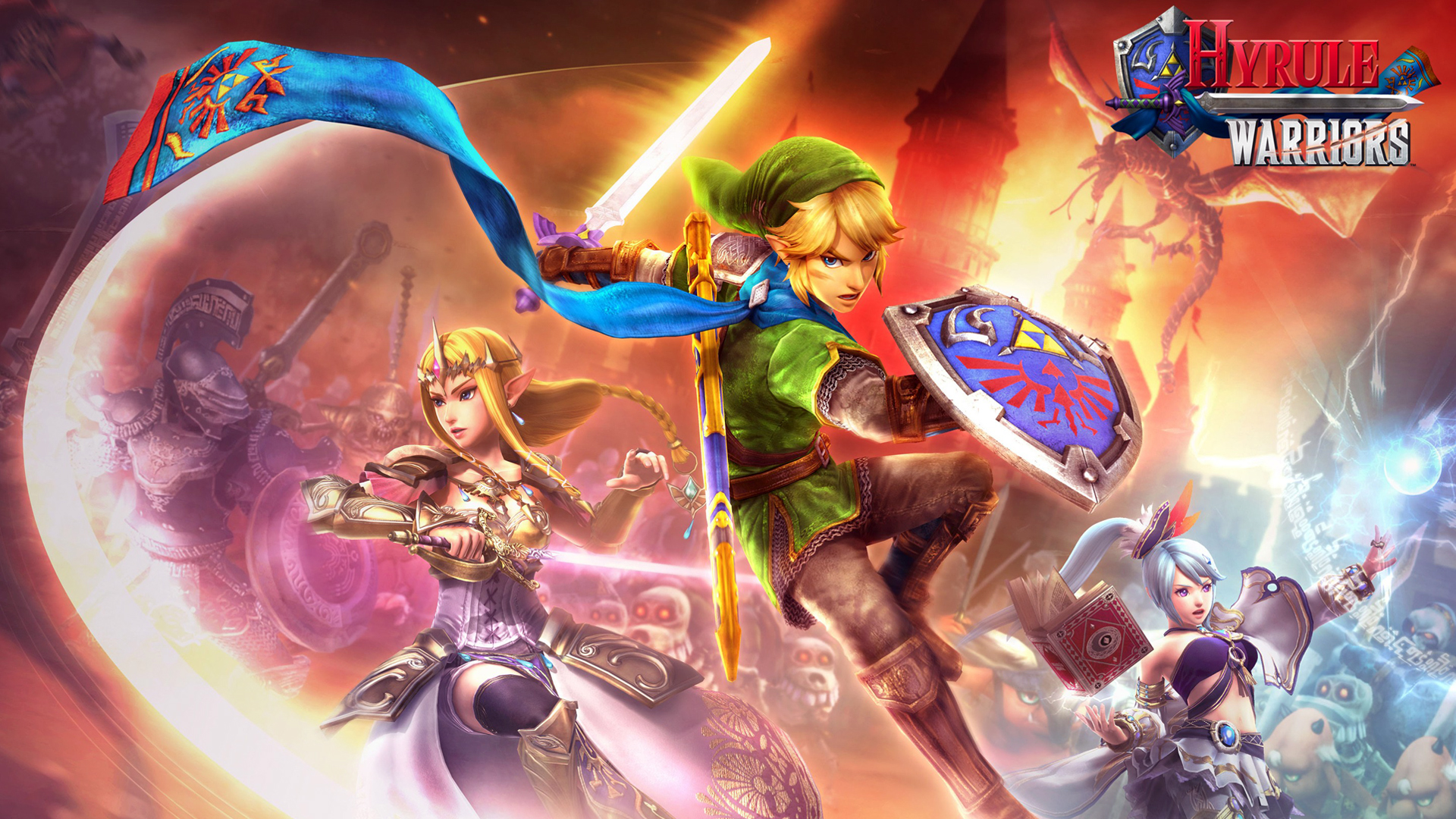 Link Hyrule Warriors Wallpaper HD