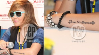 Charice Pempengco New Hair Tatoo