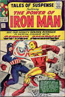 cover image of Tales of Suspense #58