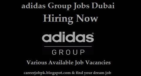 Latest Jobs In adidas Group Dubai
