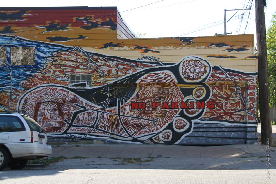 Chicago architecture cityscape pilsen murals hector for Diego rivera mural chicago