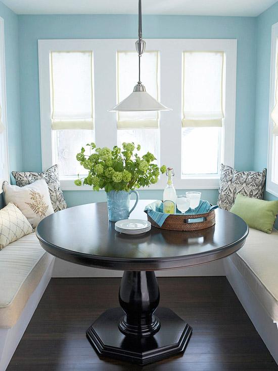 Casa haus english ideas kitchen nooks and banquettes for Corner kitchen nook ideas