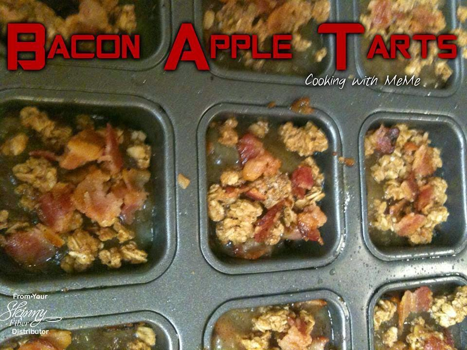 Everyday life with Julie: ♥ Bacon Apple Tart ♥
