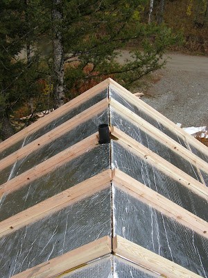 Insulated Roof Panel Retrofit - Palmer Cabin Peak Complete