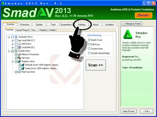 smadav is an additional antivirus software that is designed to protect