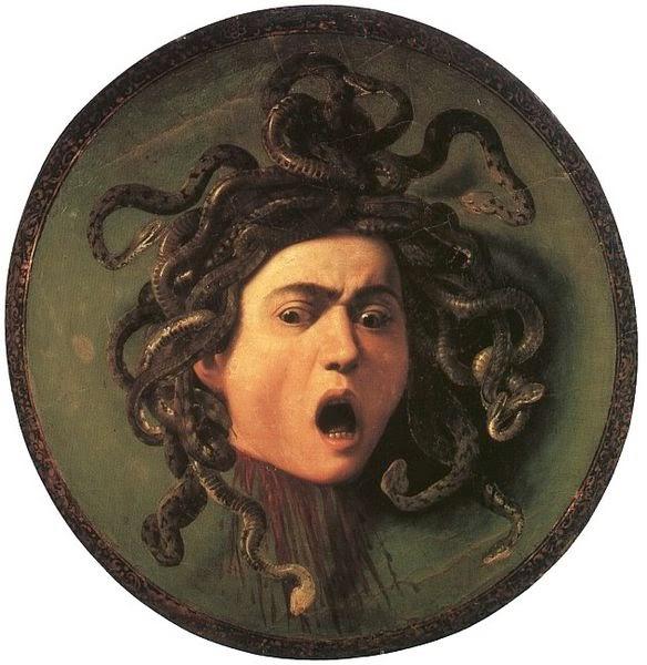 Medusa, Michel Angelo Merisi da Caravaggio