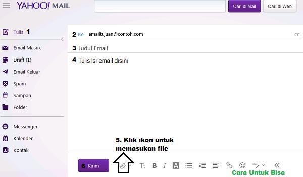 Cara Mengirim Email di Yahoo