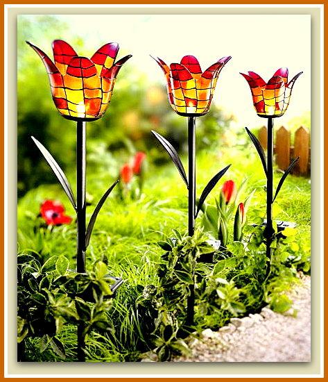 Dise o y decoraci n de la casa lo ultimo en l mparas para for Lamparas para el jardin