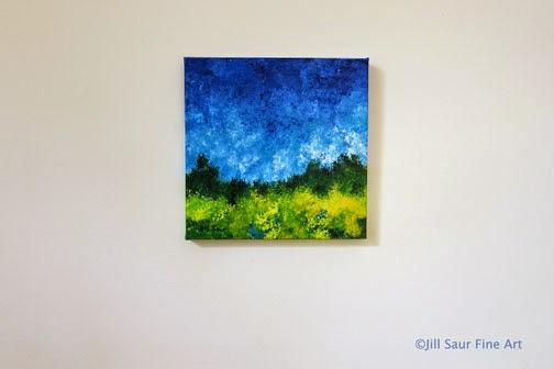 landscape painting by jill saur