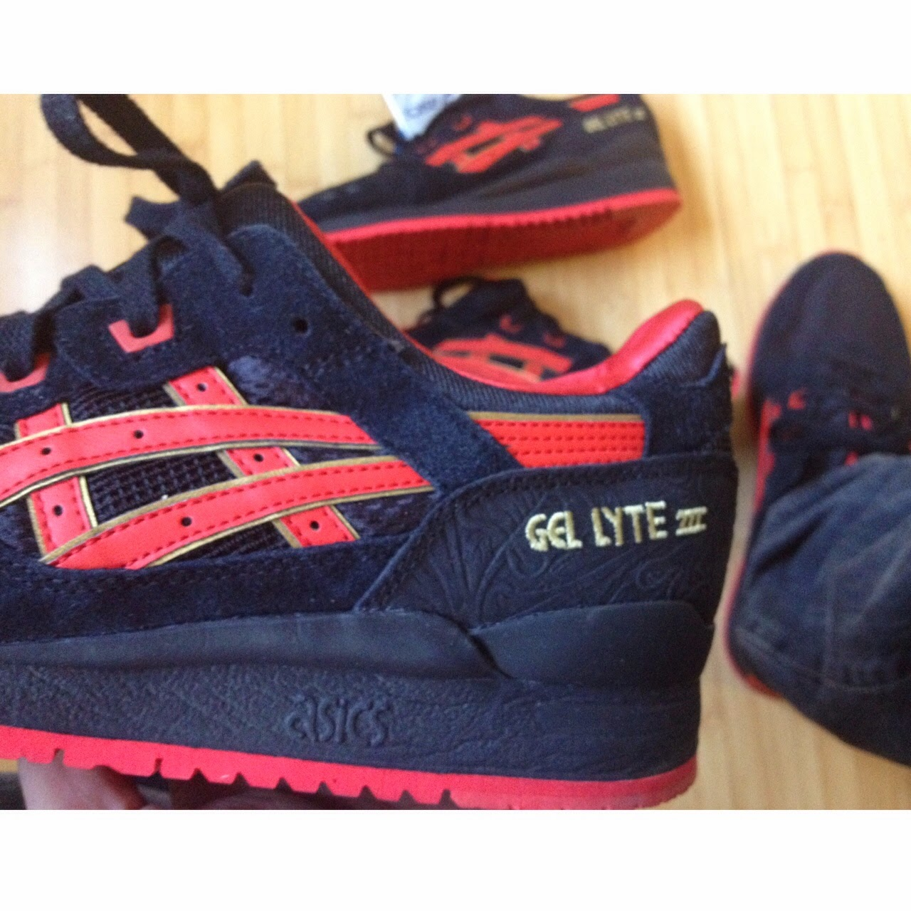 fresh laces, hater gel lyte III, asics, sneaker collection