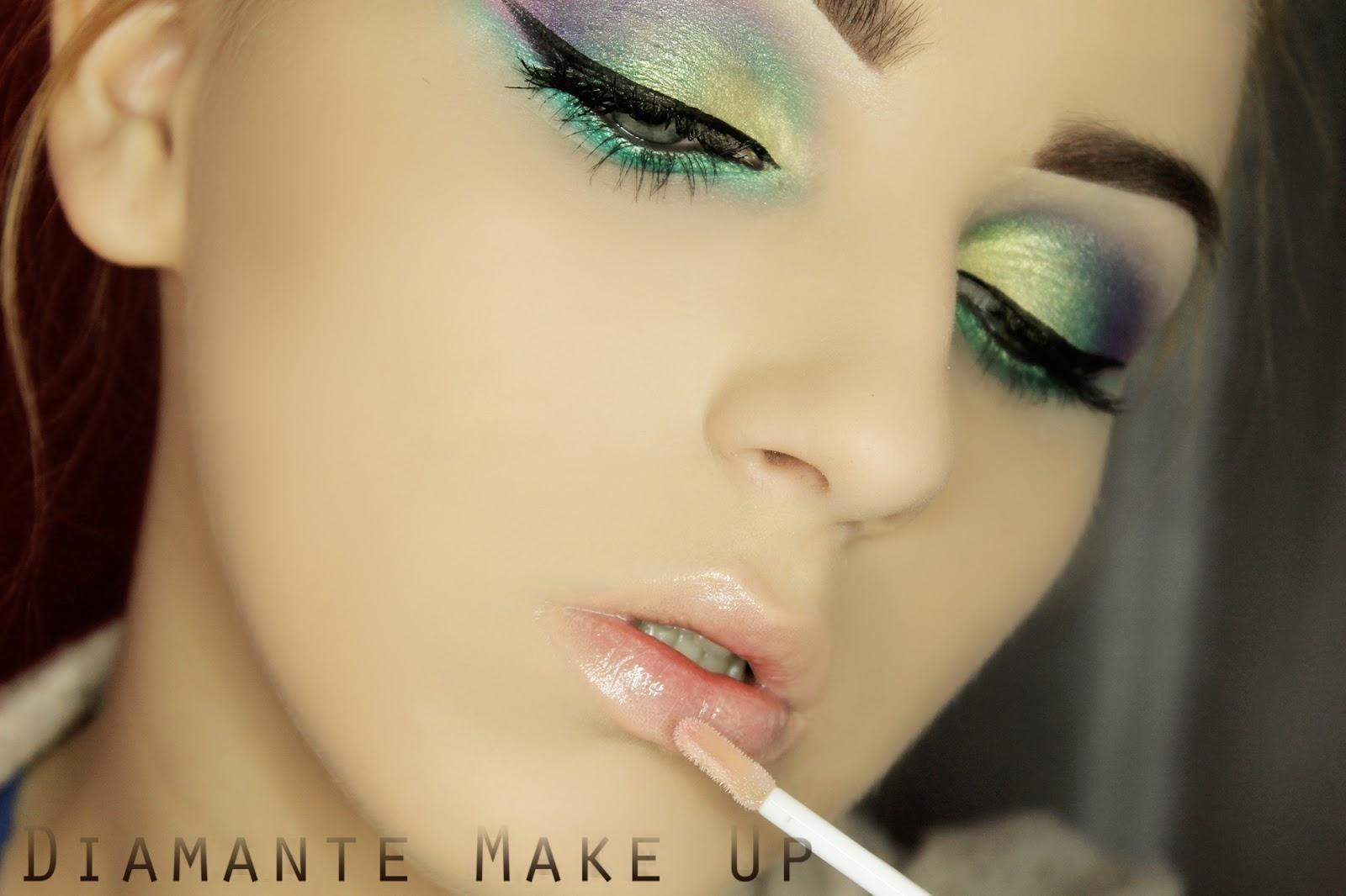 Kolorowy makijaz Krok Po Kroku #1