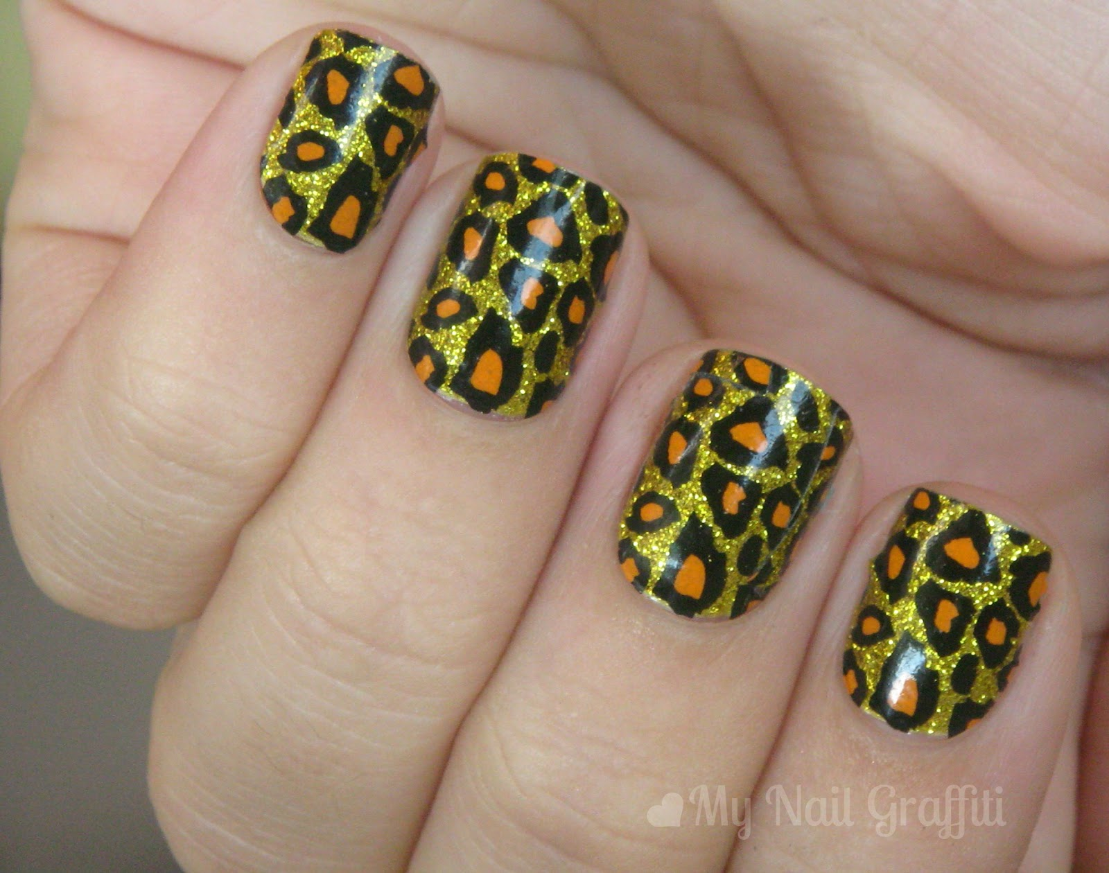 The Fascinating Leopard print fake nail designs Photograph