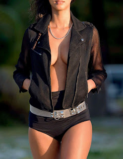 Lais Ribeiro in Black Bikini     huge    for Black See Pictureshoot for ELLE Italy June 2015