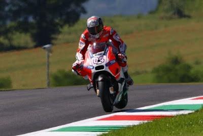 Hasil Lengkap Latihan Bebas 2 MotoGP Mugello, Italy 2015