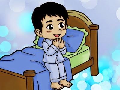 Revolusi Ilmiah - Berdoa sebelum tidur.