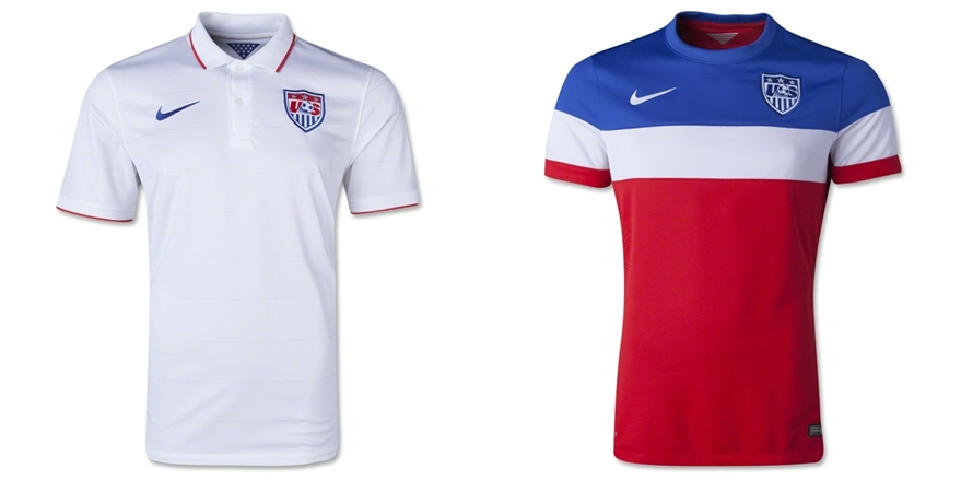 Amerika Serikat (USA) - Jersey Grade Ori Piala Dunia 2014