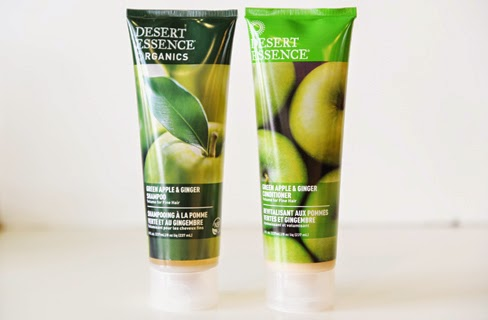 Desert essence apple ginger shampoo conditioner