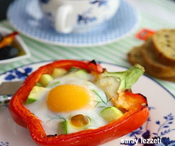 firinlanmis-biberde-yumurta-tarifi
