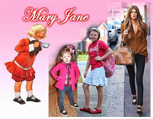 Sepatu Wanita Mary Jane