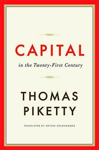 Capital in the Twenty-First Century | Thomas Piketty | Book Cover