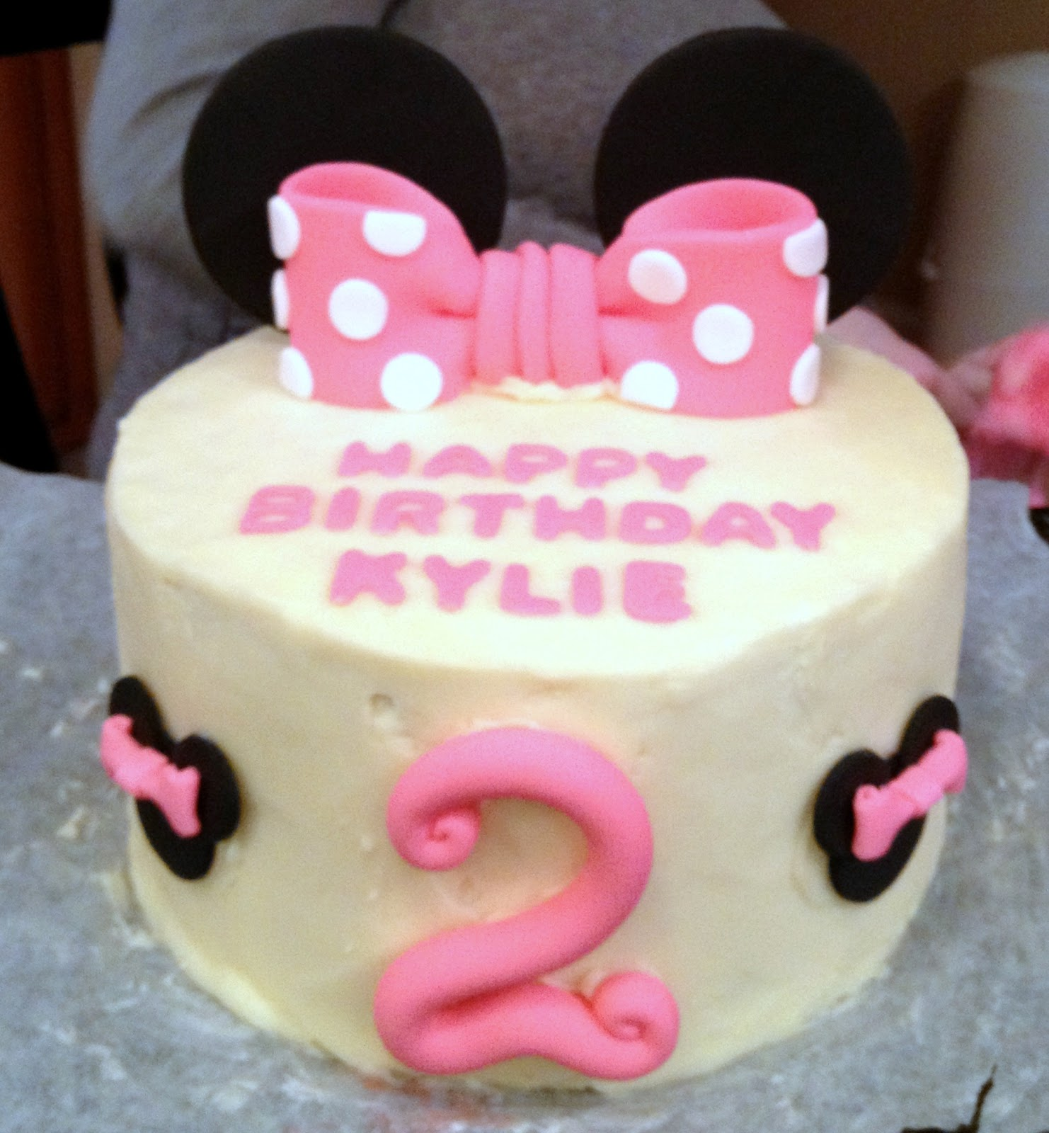 Cake Ideas For 2nd Birthday Girl : Minnie Mouse 2nd Birthday Party