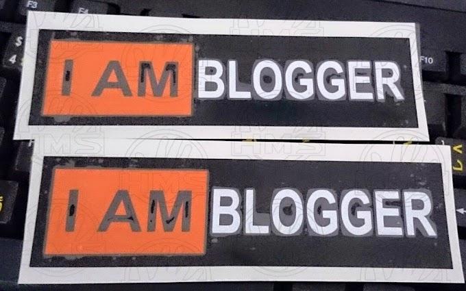 I AM BLOGGER!
