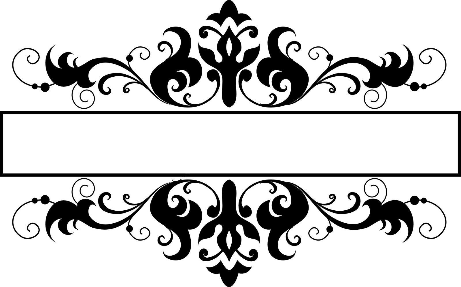 Black and White Damasks: Free Printable Toppers and Labels. | Is it ...