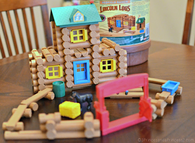 Lincoln Logs: Redfield Ranch @KnexBrands