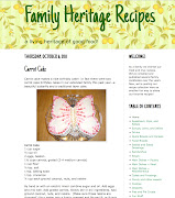 Family Heritage Recipe