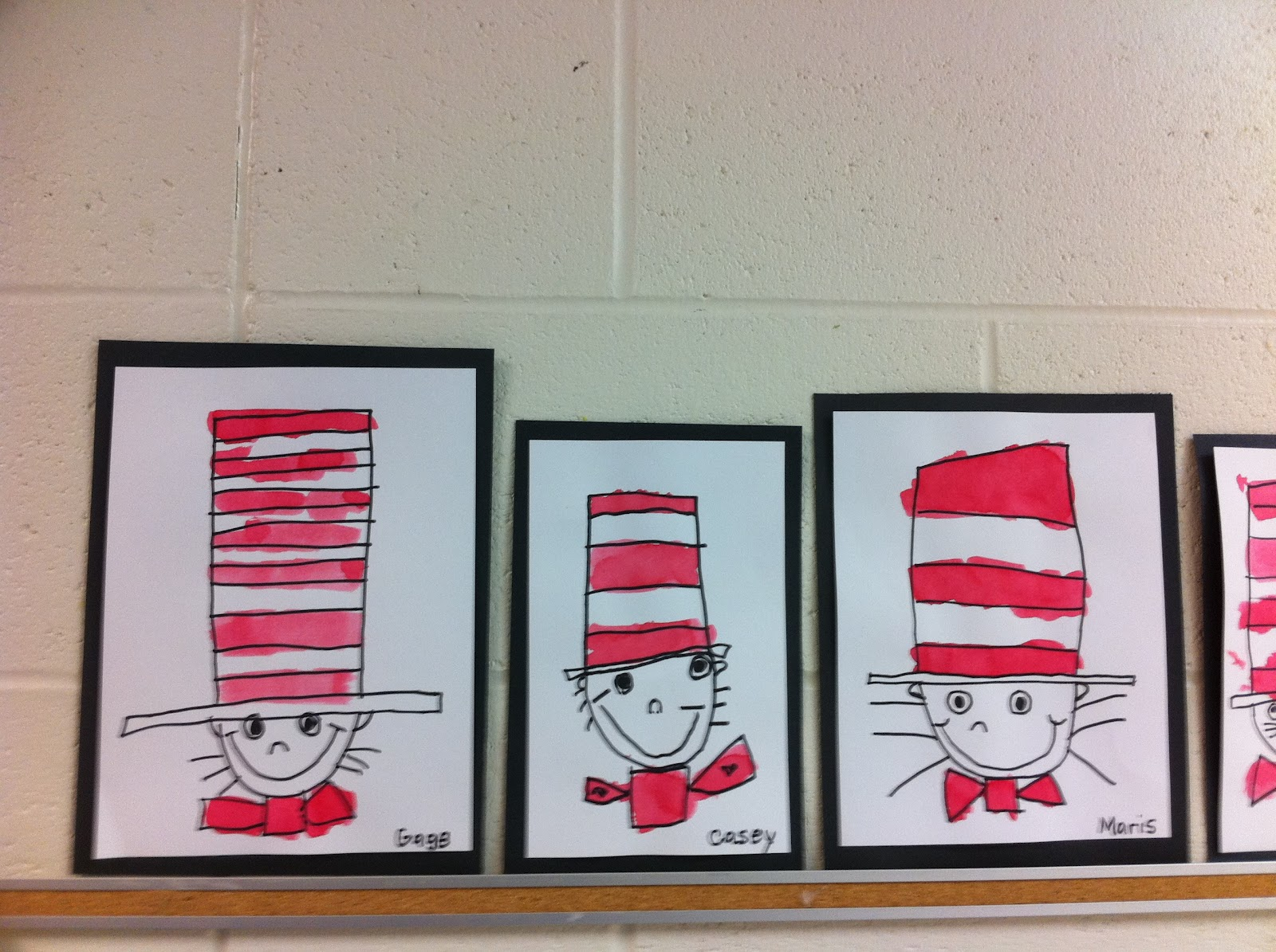 Another Way To Draw The Cat In The Hat Fairy Dust Teaching