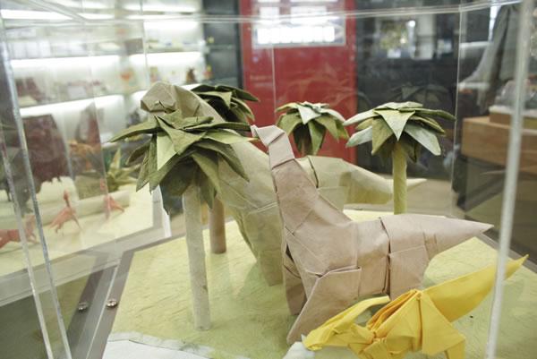 origami bunga lily