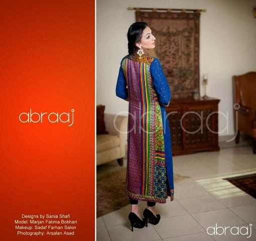 Abraaj Latest Formal  Party Wear Collection 2013-2014 For Girls By Fashion She9