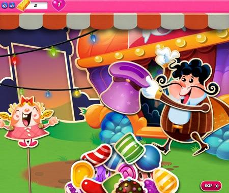 Candy Crush Saga 546-560 ending