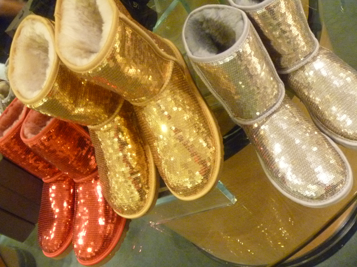 Sparkly Shoe Boots