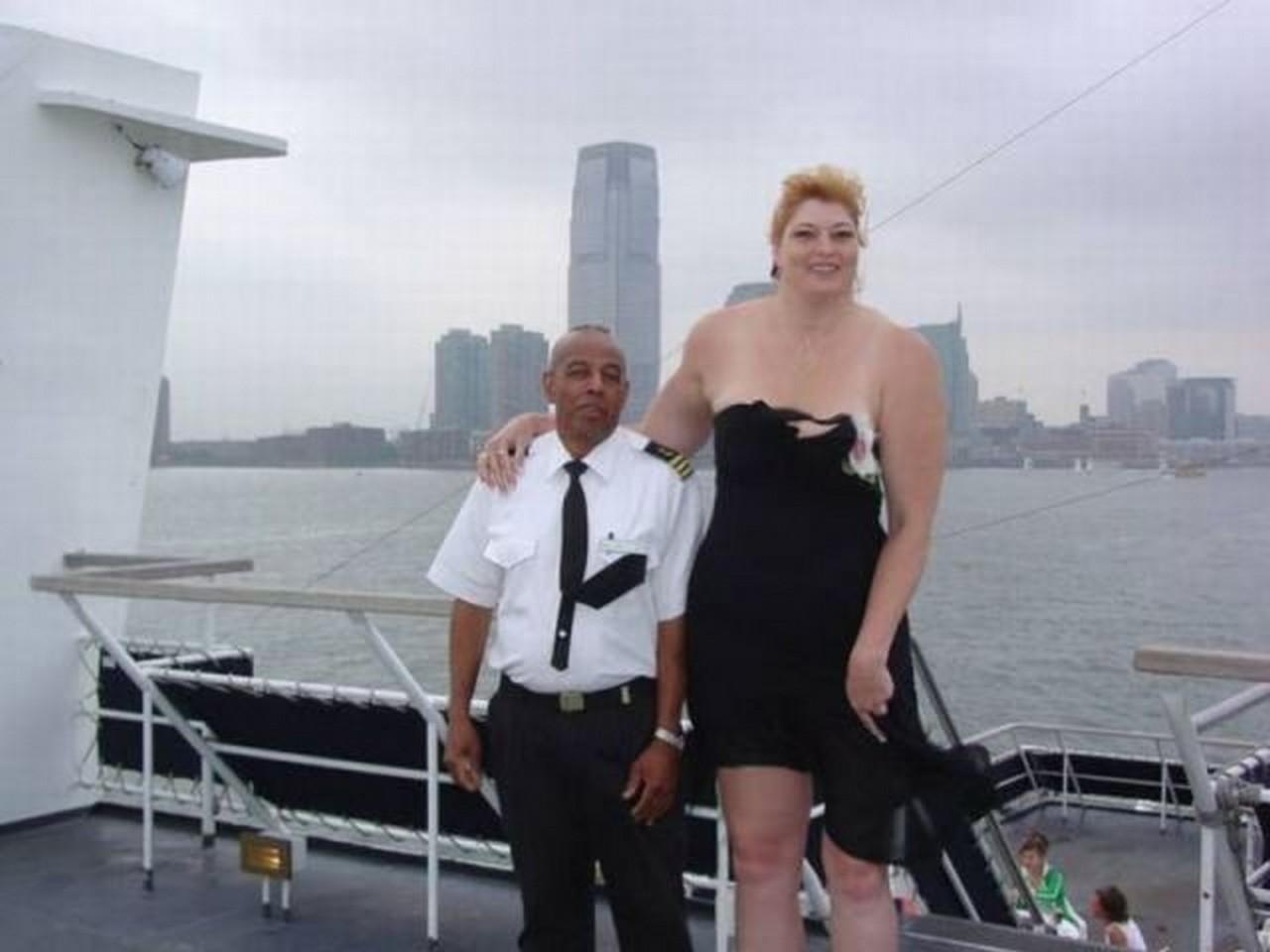 tall fat person