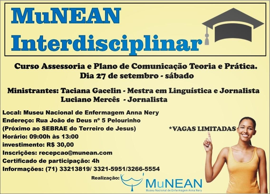 Curso de Assessoria e Plano de Comunicação Teoria e Prática - Munean