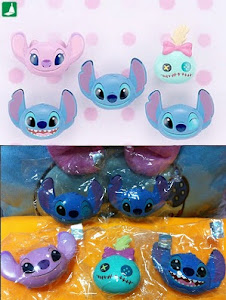 Disney Sega Stitch Angel Scrump Squishy !