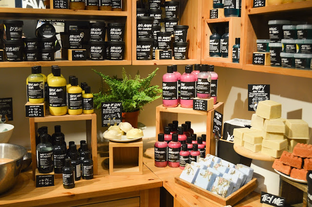 Lush Chester VIP Blogger Event New Shower Gels