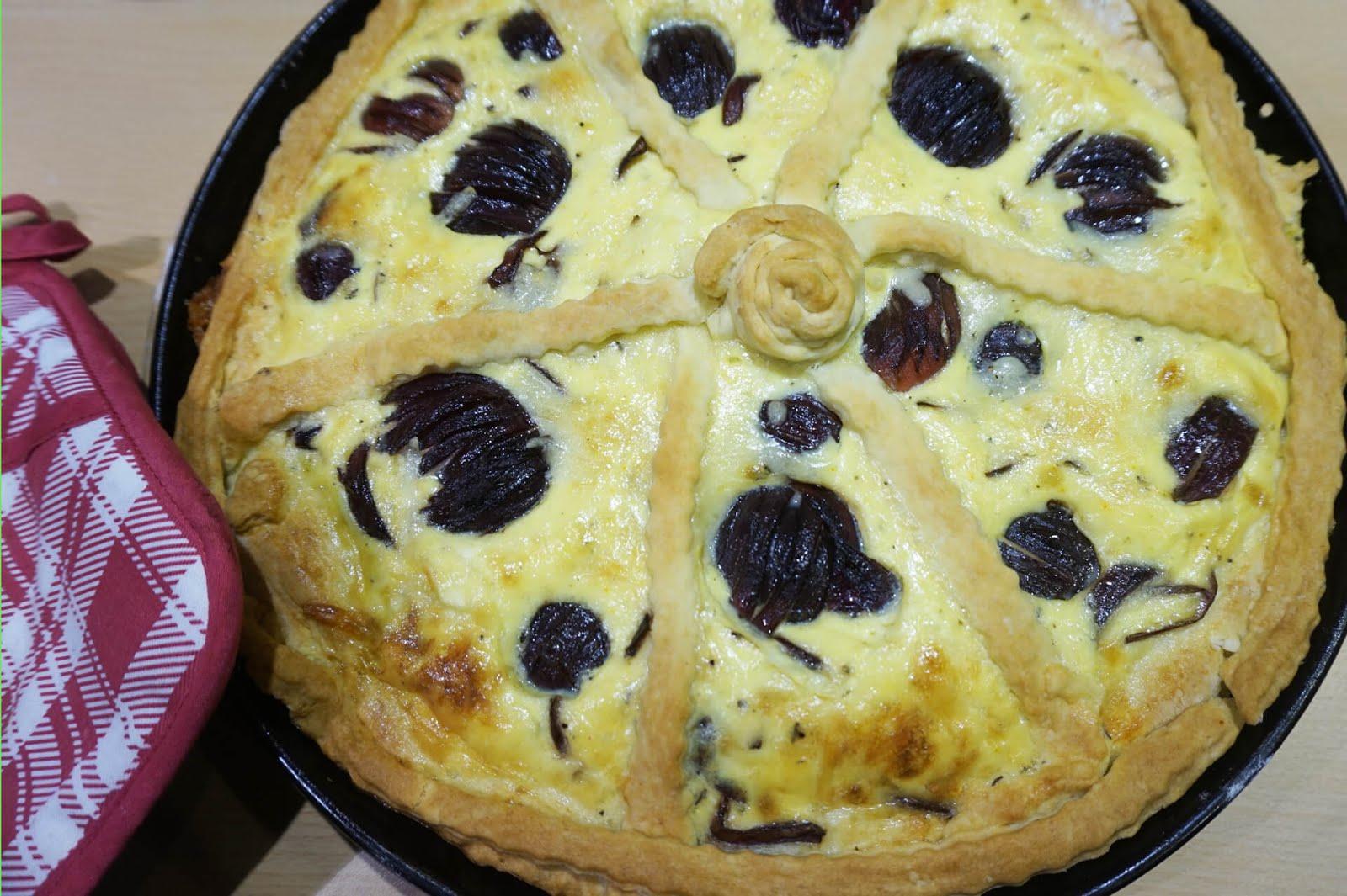Balsamico-Zwiebelkuchen