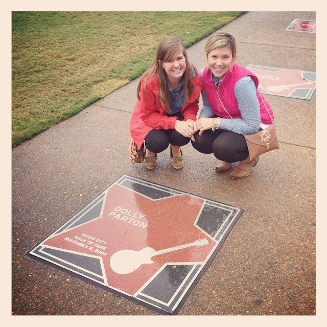 Country Music Walk of Fame in Nashville on Semi-Charmed Kind of Life
