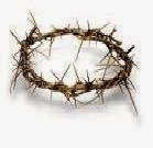 """...after twisting together a crown of thorns, they put it on His head"""