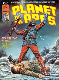 Portada de Planet of the Apes #11-Marvel