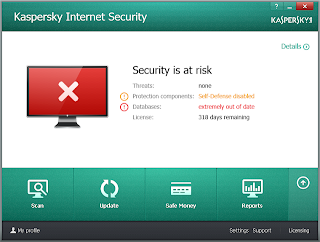 Share Key Kaspersky Internet security 2014