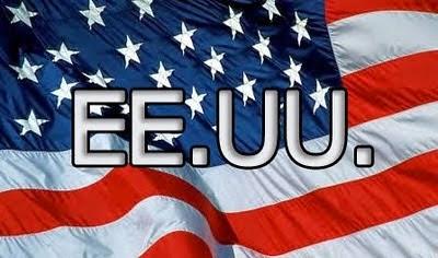 abreviación estados unidos, ee.uu., bandera de estados unidos