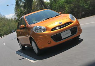 eksterior nissan march