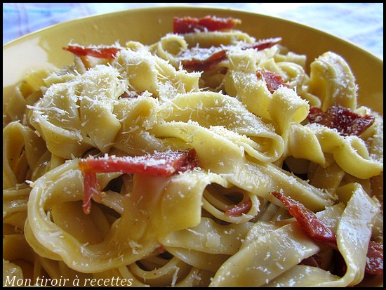 pates carbonara la vraie recette italienne