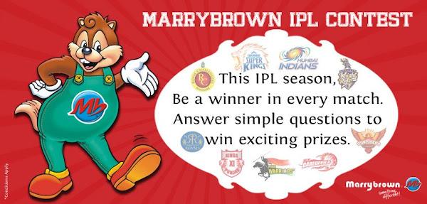 MarryBrown IPL6 Contest