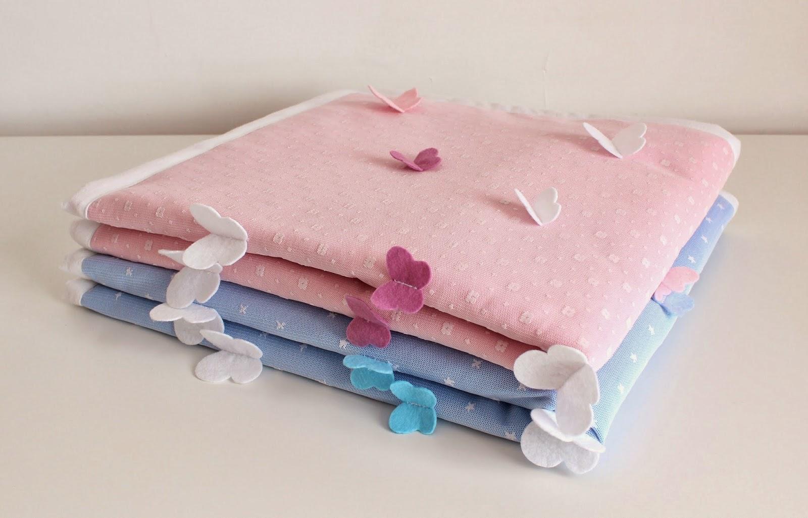 bebek battaniyesi, kelebekli bebek battaniyesi