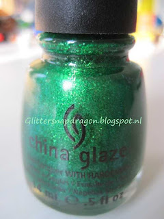China Glaze Running in Circles