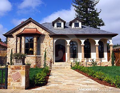 Decoraciones y modernidades modernas casas con fachadas for Fachadas de casas modernas con piedra